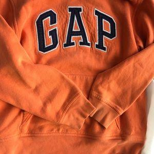 Gap orange sweatshirt